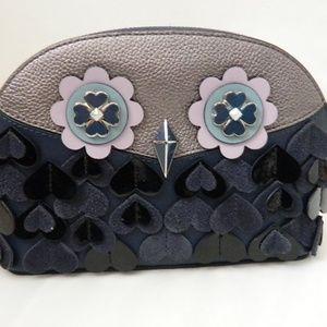 KATE SPADE Zibbie Medium Dome Cosmetic Case NWTs